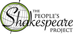 Logo for The People's Shakespeare Project